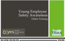 O[yes] awarded Oregon OSHA training grant!